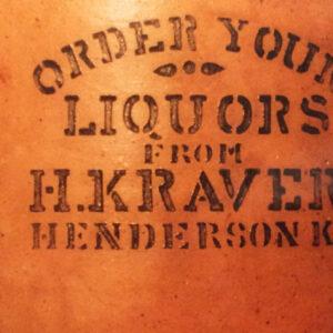Original Peerless Liquor Jug (Circa 1900)