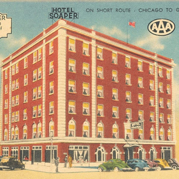 Soaper Hotel, of which Henry Kraver was an investor in the 1920s