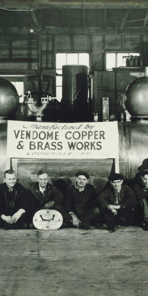 Vendome Copper and Brass Still Room