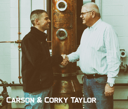 Kentucky Peerless Distilling Co. Carson and Corky Taylor