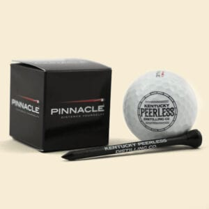 Kentucky Peerless Golf Ball & Tee