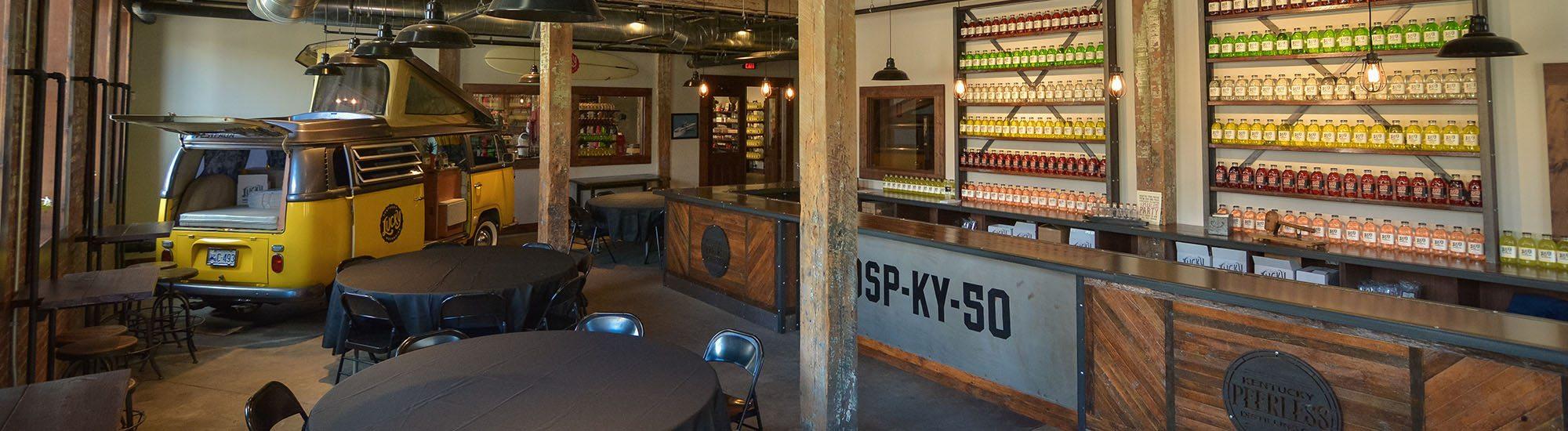 Event space rental distillery louisville