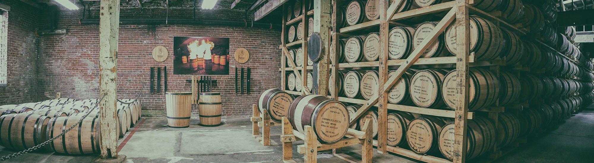 Bourbon, rye whiskey and Lucky Kentucky Moonshine