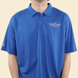 Kentucky Peerless Distilling Blue Polo