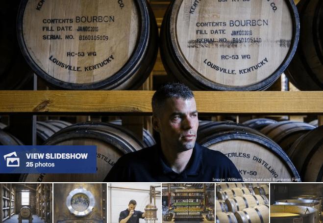 Louisville newest distilleries