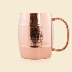 Peerless Brass Mule Mug