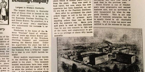 Article from the Gleaner in Henderson, Kentucky