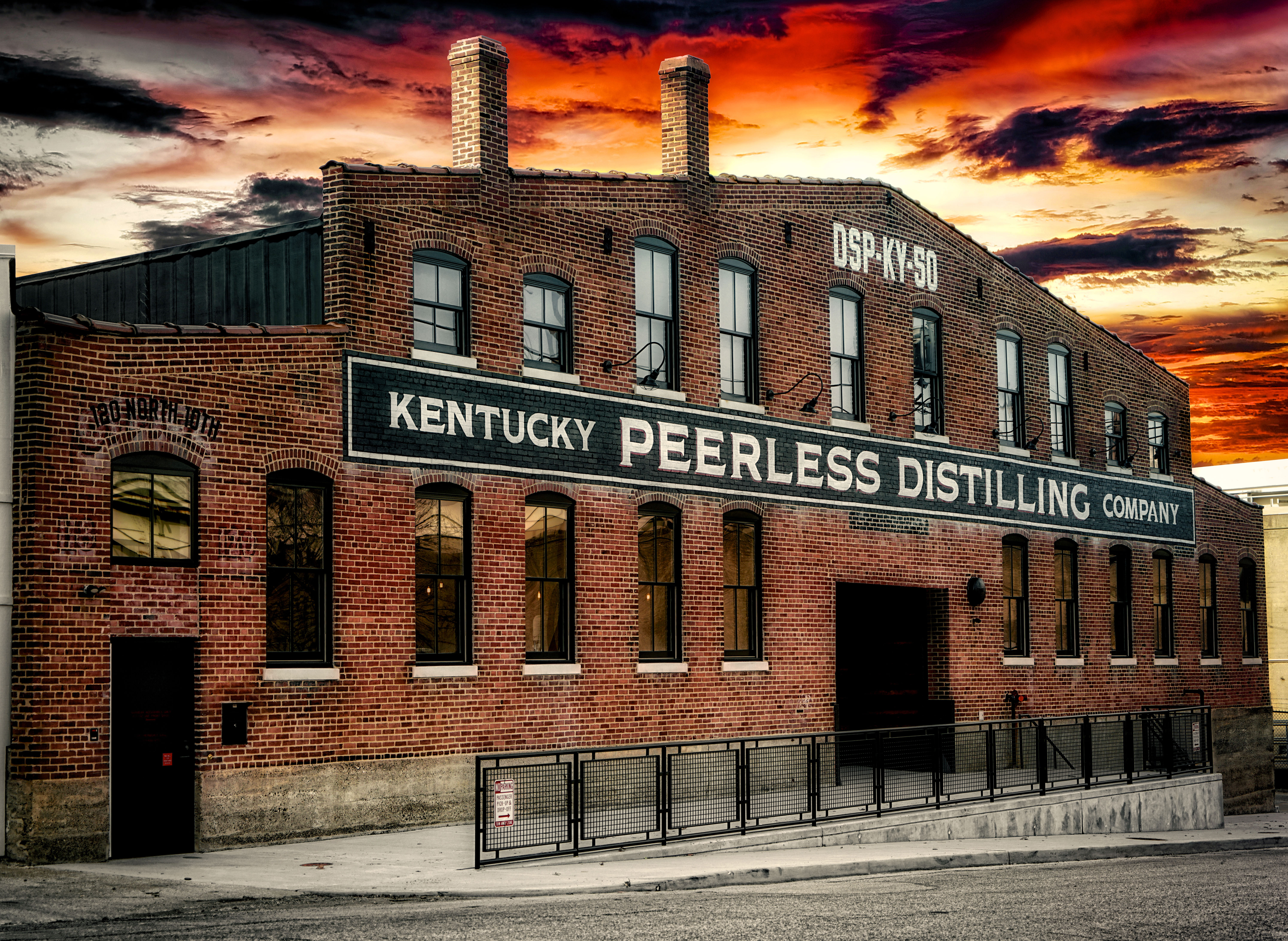 Kentucky Peerless Distilling Co Exterior distillery