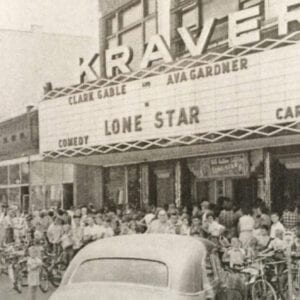 Kraver Theatre, founded by Henry Kraver in the early 30's. (1952)