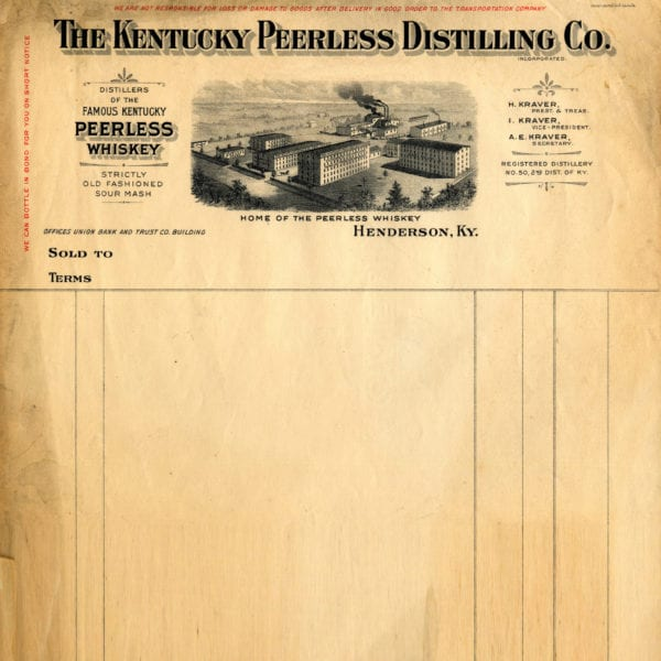 Original Peerless Distilling Stationary (Circa 1910)