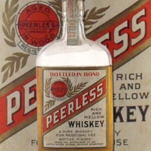 Original Peerless Whiskey Bottle