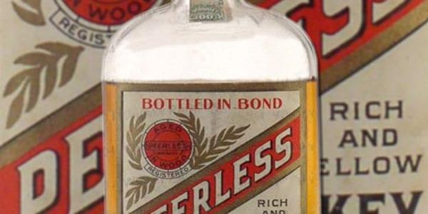 Original Peerless Whiskey Bottle