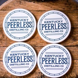 peerless ceramic coaster set