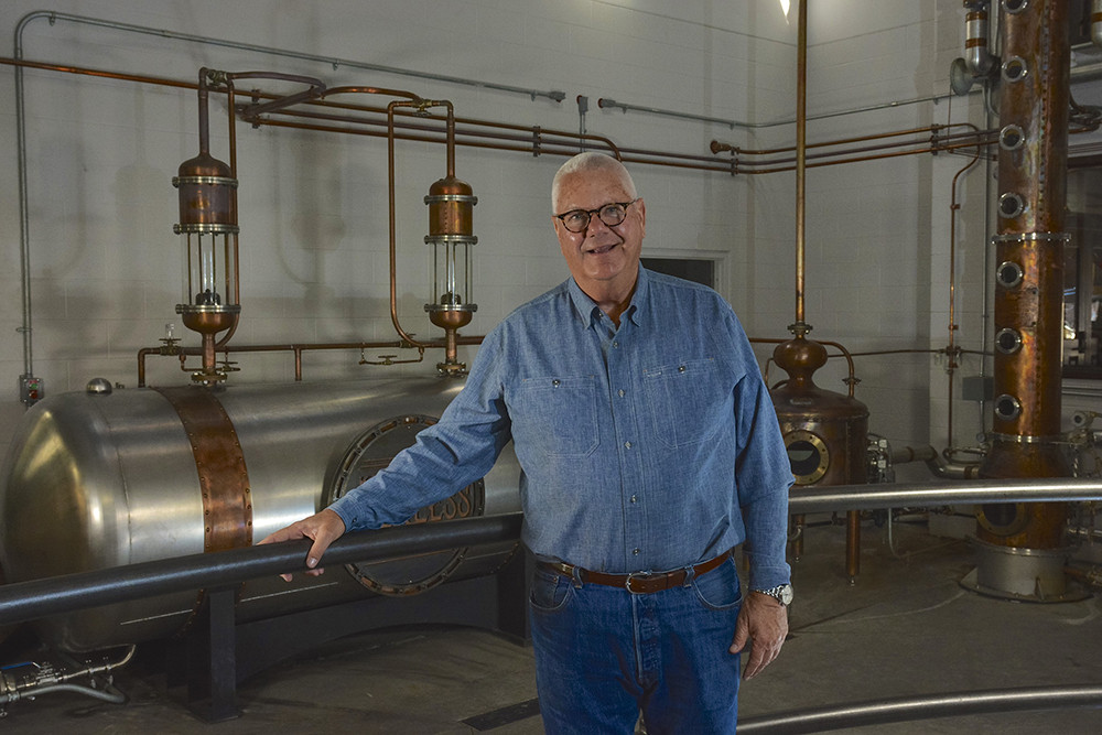 Corky Taylor Kentucky Peerless Distilling