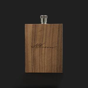 Peerless Henry Kraver Flask - Front