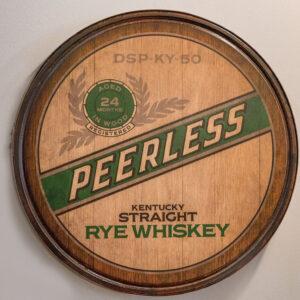 Peerless Rye Barrelhead