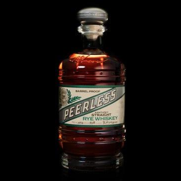 Peerless rye whiskey gift