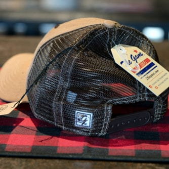 Peerless Barrel Head Tan Hat