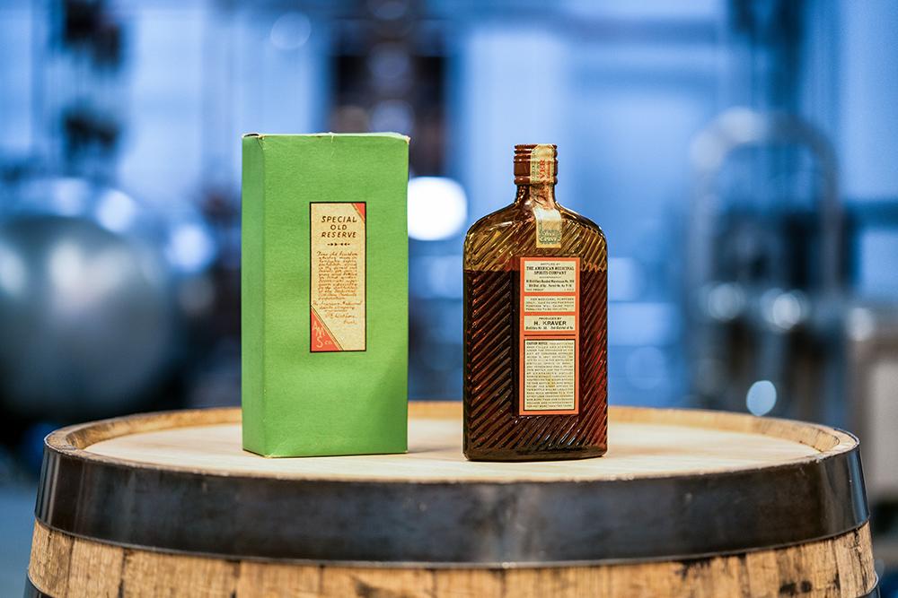 Peerless-Distilling-Co.-H.-Kraver-bottle