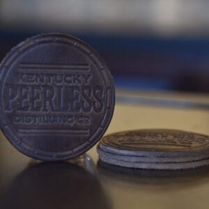 Peerless Leather Coaster