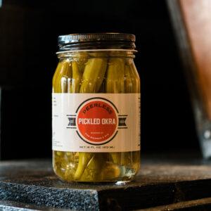 Peerless Pickled Okra