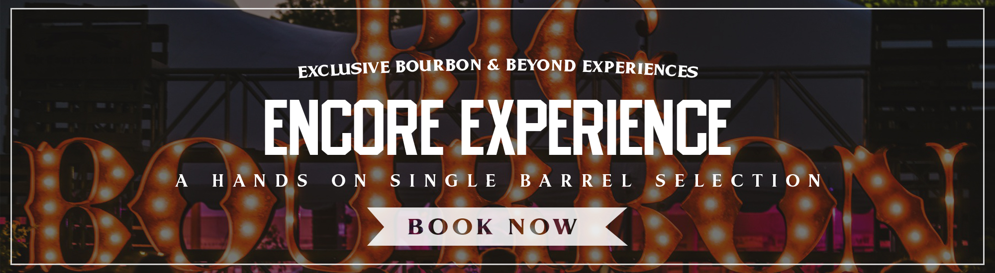 Peerless Distilling Co. – Bourbon & Beyond – Encore Experience
