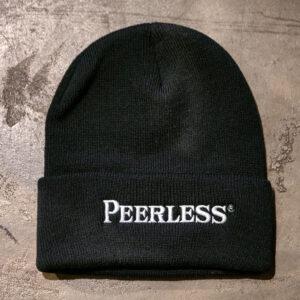 Peerless Black Beenie