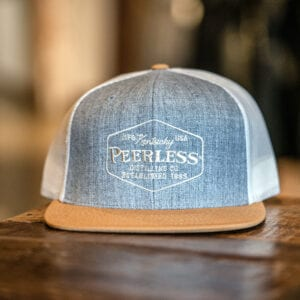 Heather Gray Flat Bill Hat