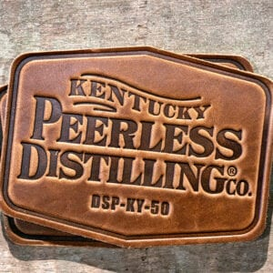 Peerless Leather Coasters 2 Pack