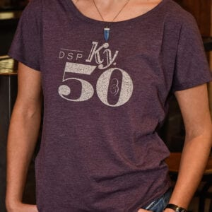 Peerless Purple 50 Tee Ladies