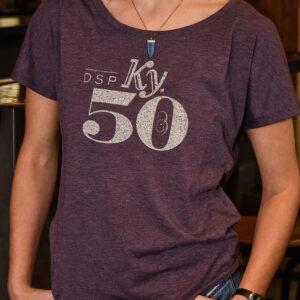 Peerless Purple 50 Tee Ladies