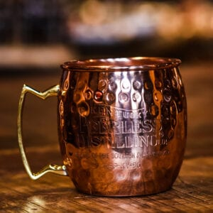 Hammered Copper Mule