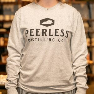Peerless State Of Kentucky Long Sleeve White