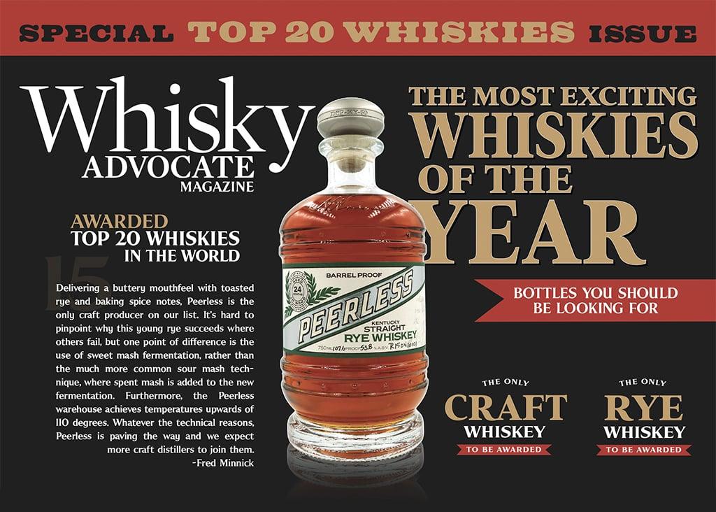 Whisky Advocate Peerless Top 20
