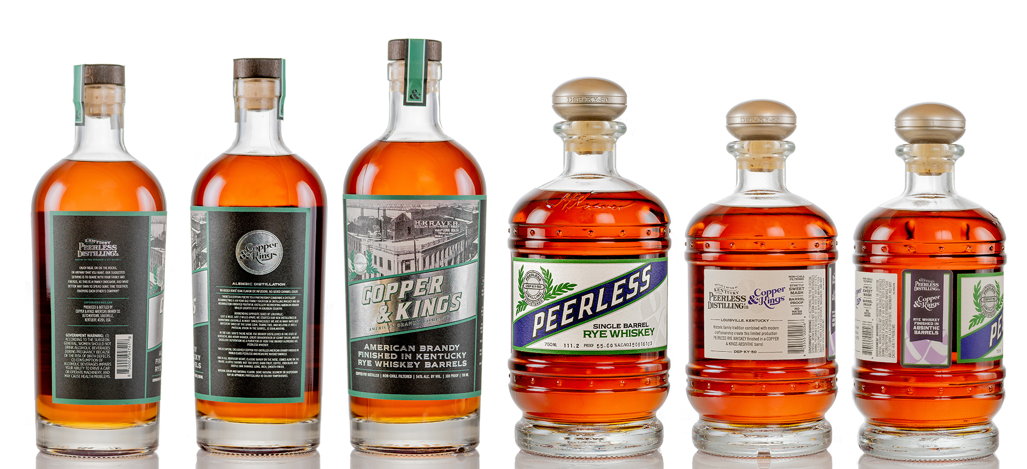 Copper & Kings and Peerless Distilling