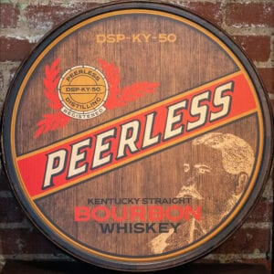 Peerless Bourbon Barrel Head