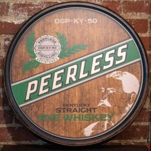 Peerless Rye Barrel Head