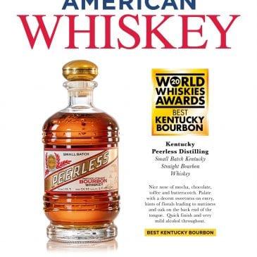 World Whiskey Awards 2020 Peerless Best Kentucky Bourbon