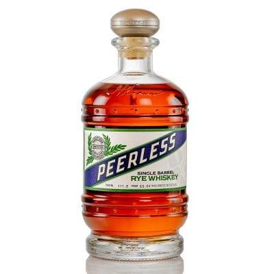 Peerless Rye Aged in Absinthe Barrels