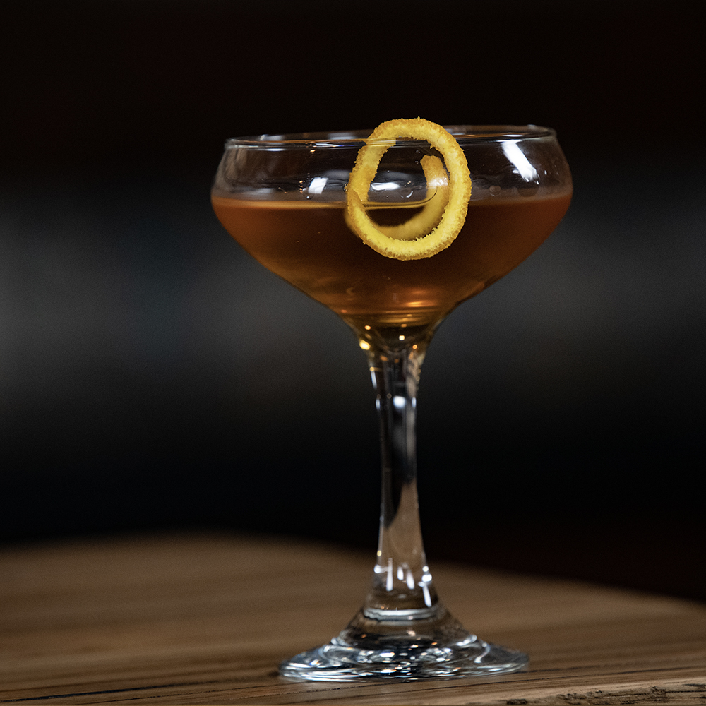 Peerless Bourbon whiskey cocktail