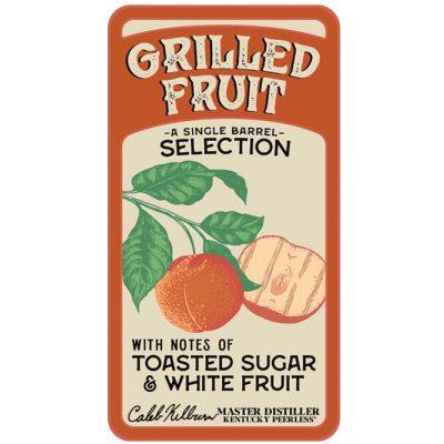 Grilled Fruit Peerless Bourbon Single Barrel