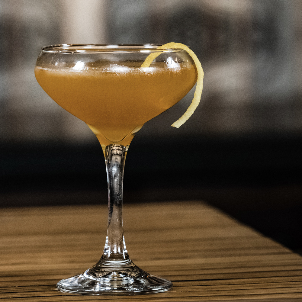 Peerless Bourbon whiskey cocktail Sidecar