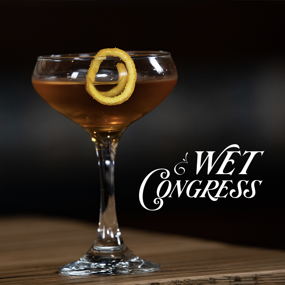 Peerless Bourbon whiskey cocktail Wet Congress