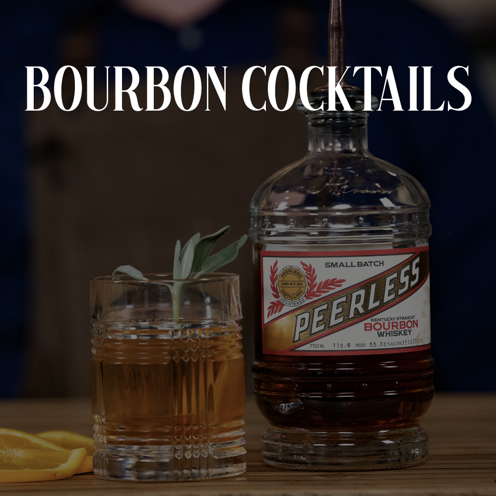 Peerless Bourbon whiskey cocktails