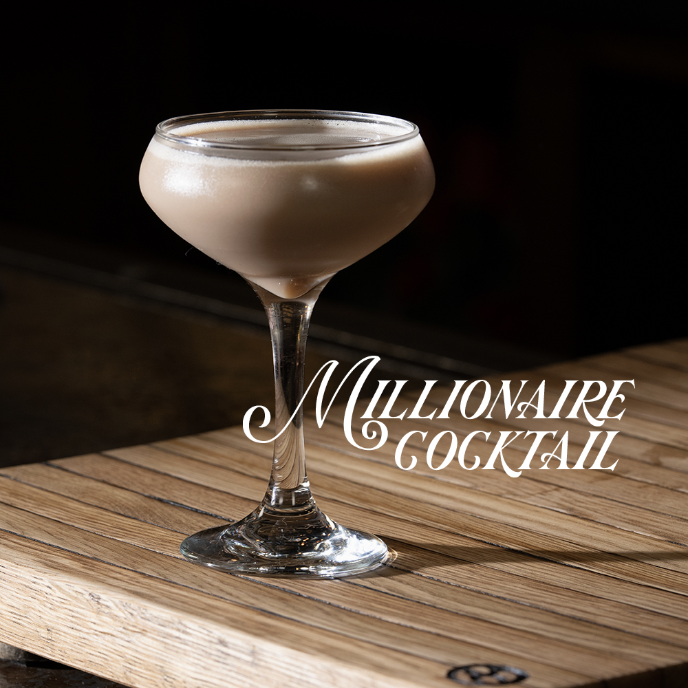 Peerless RYE whiskey cocktail MILLIONAIRE