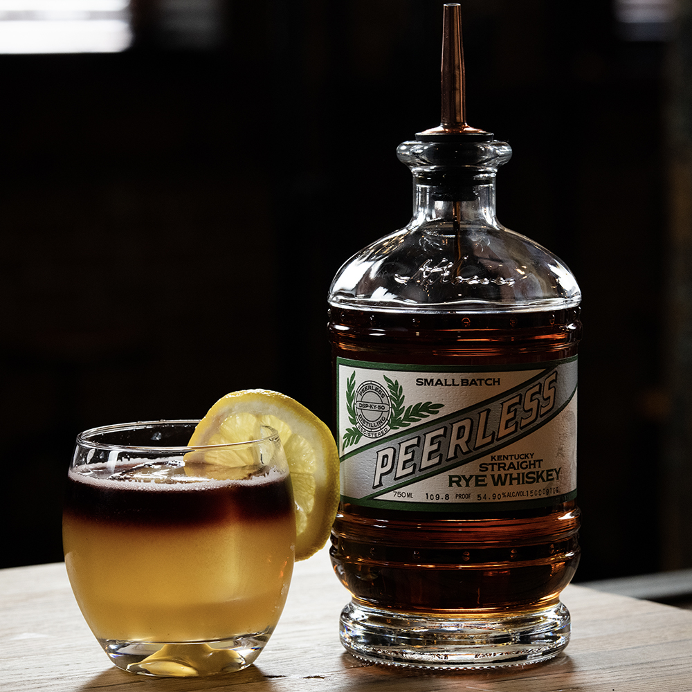 Peerless Rye whiskey cocktails New York Sour