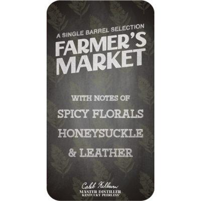 Farmer's Market Peerless Single Barrel Bourbon