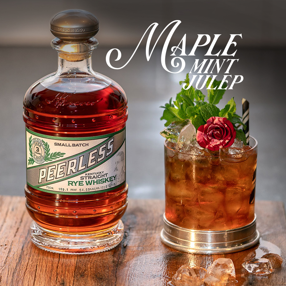 Maple Mint Julep Cocktail Peerless