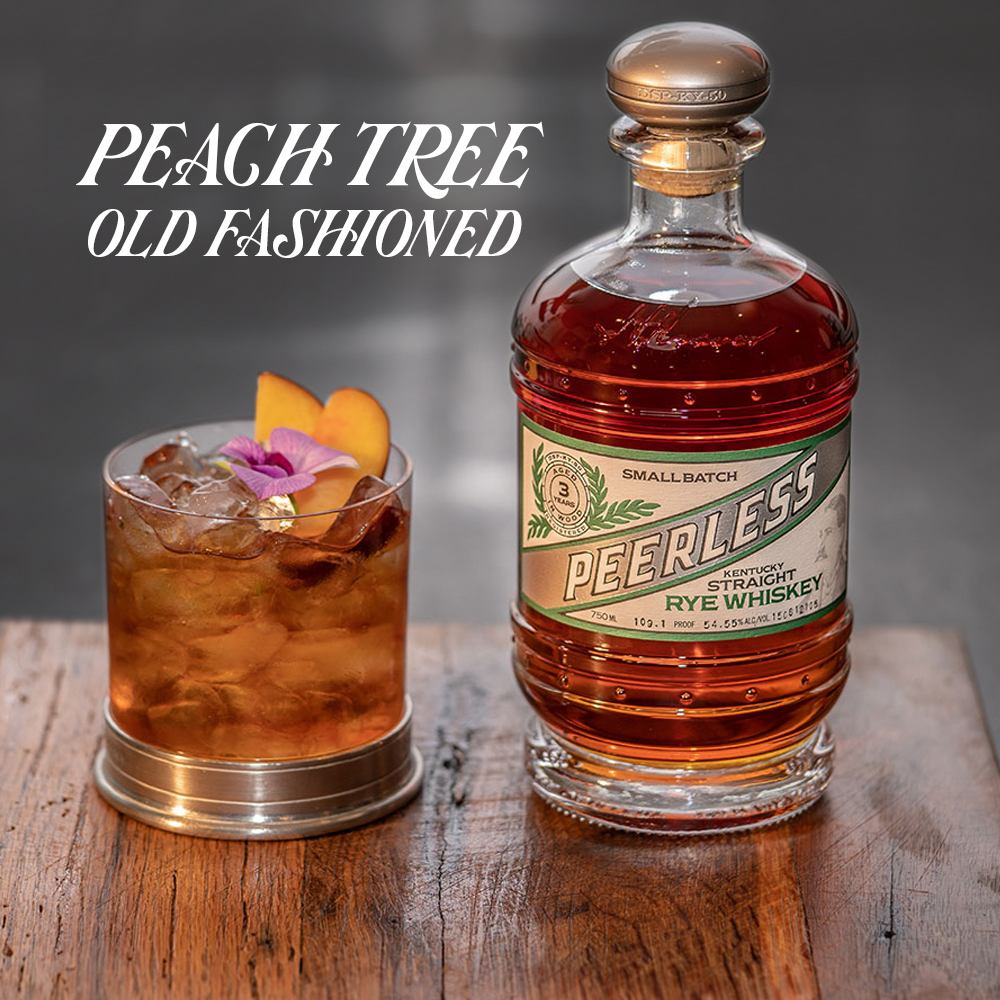 Peach Tree Old Fashioned Cocktail Peerless