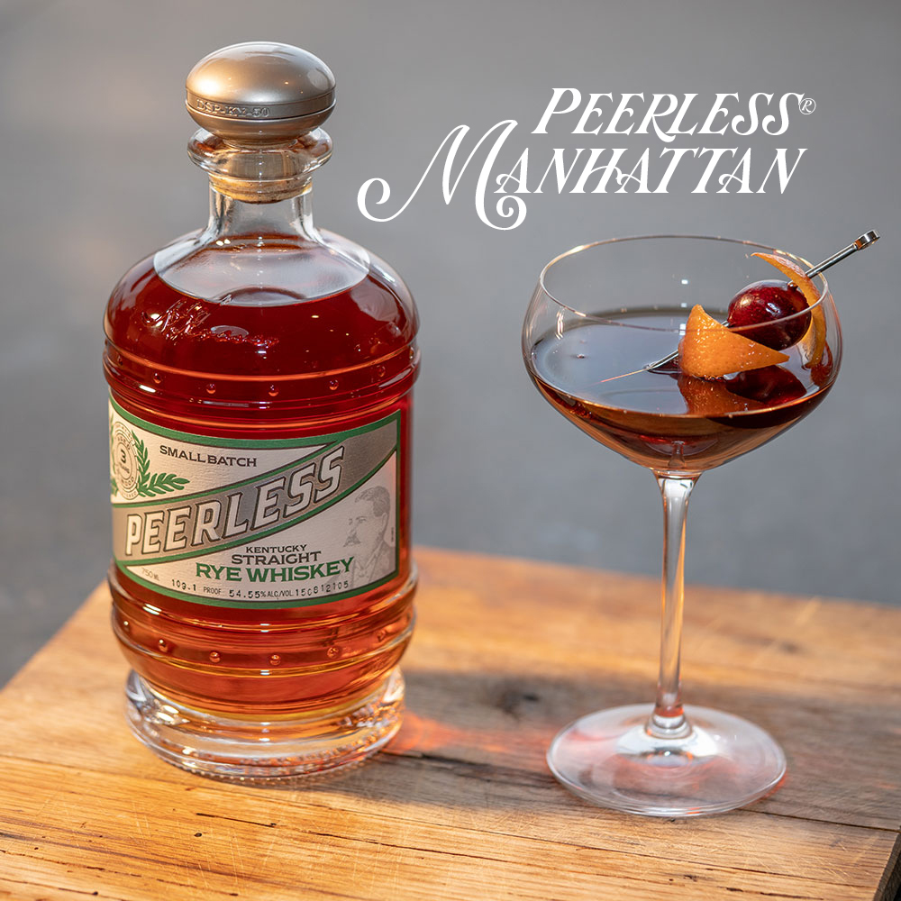Peerless Manhattan Cocktail